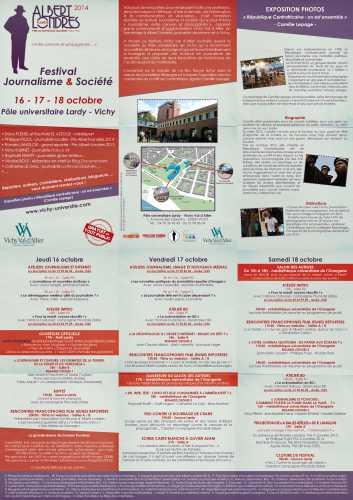 festival,journalisme,société,Vichy,arimaj,université,Pôle Lardy