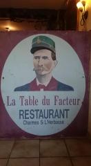 Coco,facteur cheval,palais idéal,Hauterives,restaurant,Coco peintre,publicitaire