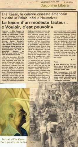 Elia Kazan, Coco peintre,Coco peintre du Facteur Cheval